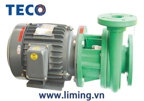 Bơm hóa chất UVP 5.5 HP mô tơ TECO